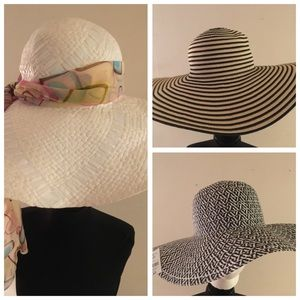 Medina Lot of 3 Hats NWT